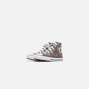 Converse Toddler Chuck Taylor All Star 1V Dinoverse Hi - Cool Grey