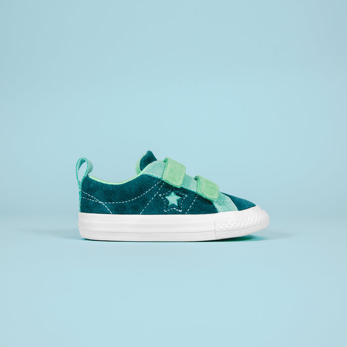 Converse T One Star 2V OX - Navy / Teal / White