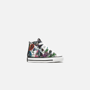 Converse x Batman Toddler CTAS High - White / Black / Multi Image 1