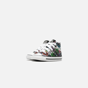Converse x Batman Toddler CTAS High - White / Black / Multi Image 2