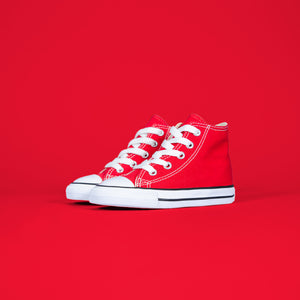 Converse Infant Chuck Taylor All-Star High - Red / White