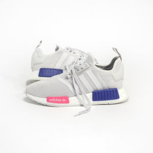 adidas Grade School NMD R1 - Grey One / Shock Pink