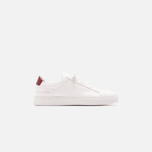 Common Projects Retro Low - White / Red
