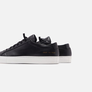 Common Projects WMNS Original Achilles Low - Black / White