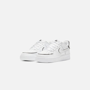 Nike Grade School Air Force 1/1 - White / Black Image 3
