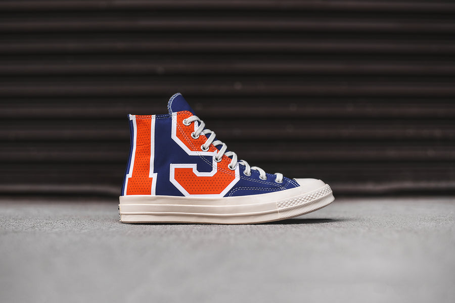Converse x NBA Chuck Taylor All Star High '70 - Blue / Orange / Egret Blue