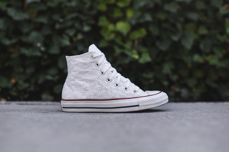 Converse WMNS Chuck Taylor All Star High - White / Floral
