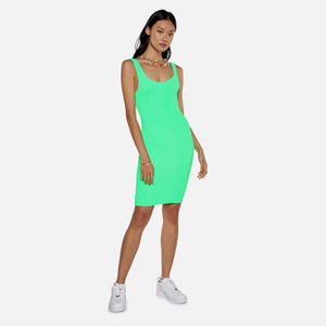 Reina Olga Custom Dress - Neon Green