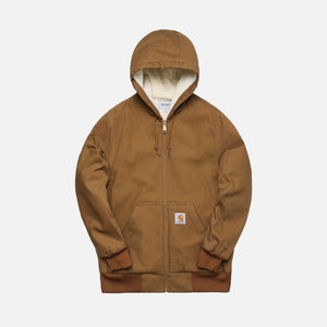 Carhartt WIP Active Pile Jacket - Hamilton Brown