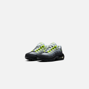 Nike Pre-School Air Max 95 OG - Black / Neon Yellow / Light Graphite
