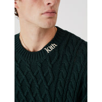 Kith Gramercy Cable Mock Neck - Scarab Thumbnail 3