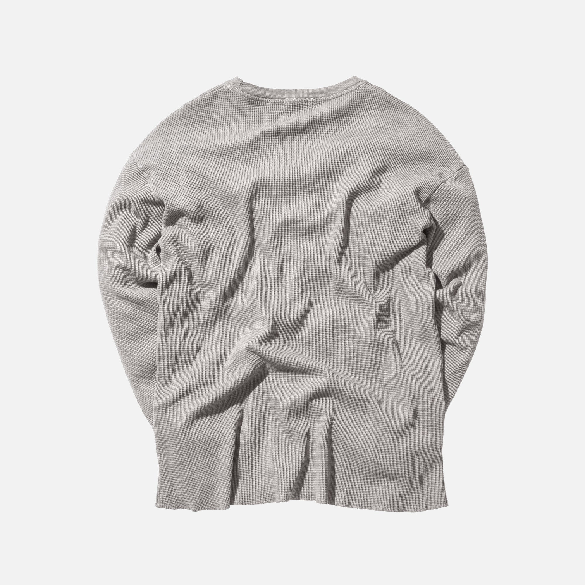 Kith Classics x Calux Waffle Thermal - Heather Grey