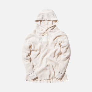 Kith x Calux Waffle Hoodie - Natural