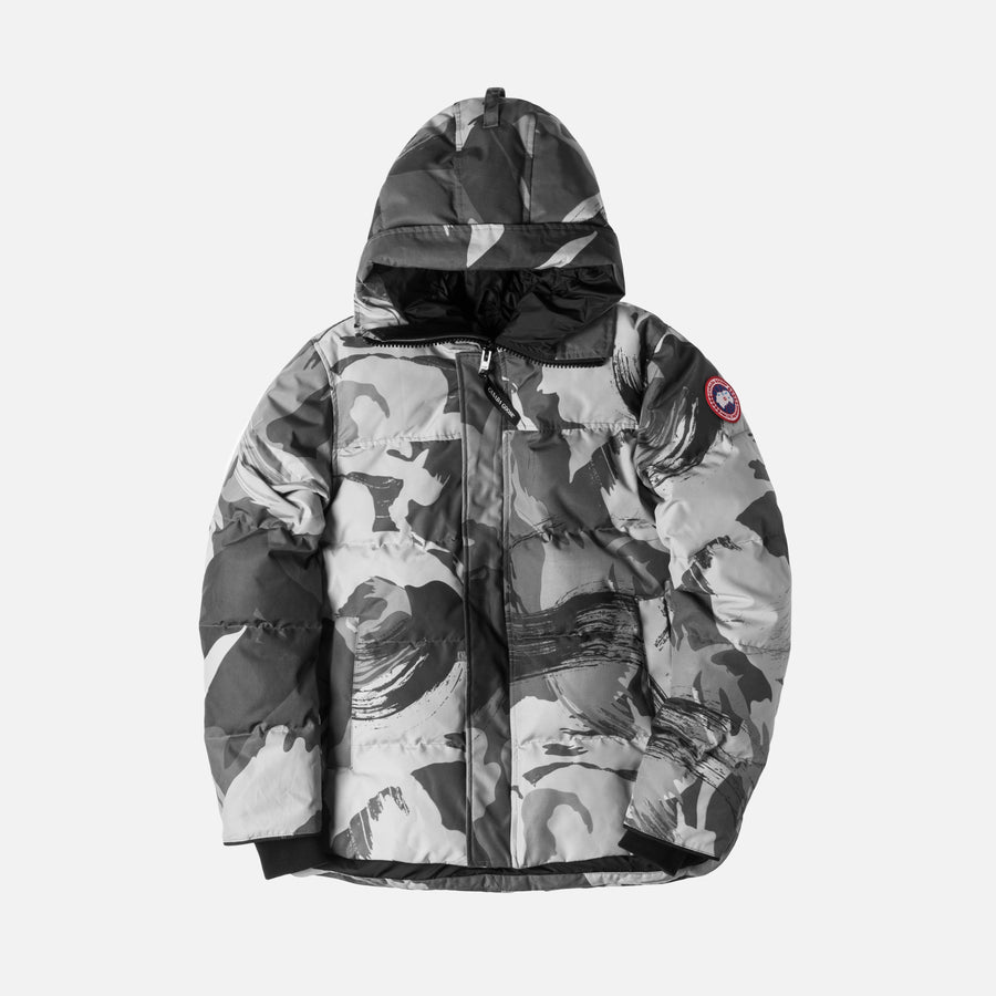 Canada Goose MacMillian Parka - Grey / Brushed Camo