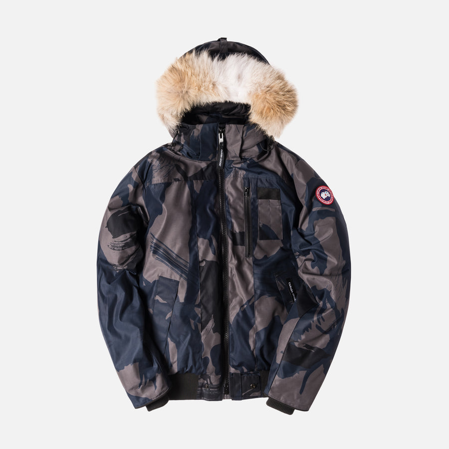 Canada Goose Borden Bomber - Blue / Brush Camo