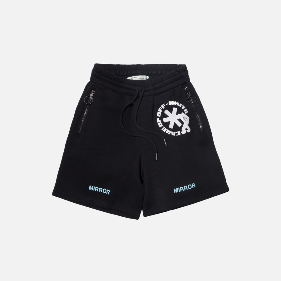 Off-White Care Off Shorts - Black