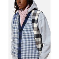 Kith Charlton Reversible Quilted Vest - Blue / Multi Thumbnail 11