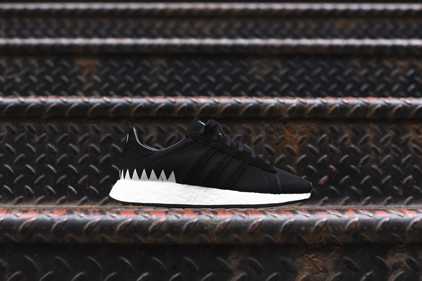 competitive price b8a52 16642 adidas Consortium x Neighborhood Chop Shop. Black  White