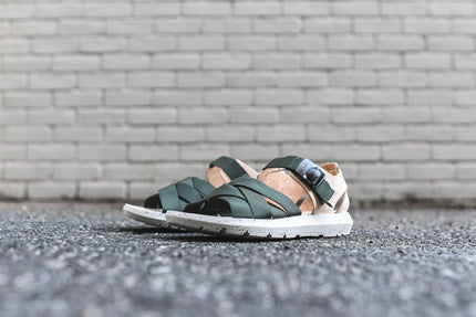 Clarks x Christopher Raeburn Jacala Sandal - Green / Natural