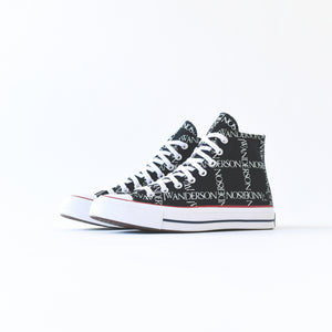 Converse x JW Anderson Chuck 70 High - Black / White / Insignia Red