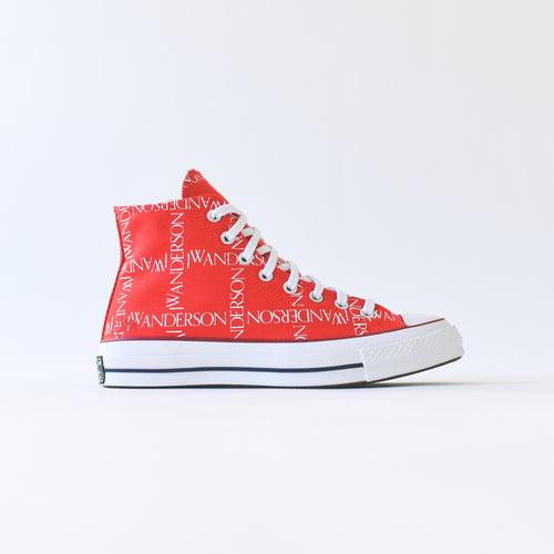 Converse x JW Anderson Chuck 70 High - Flame Scarlet / White