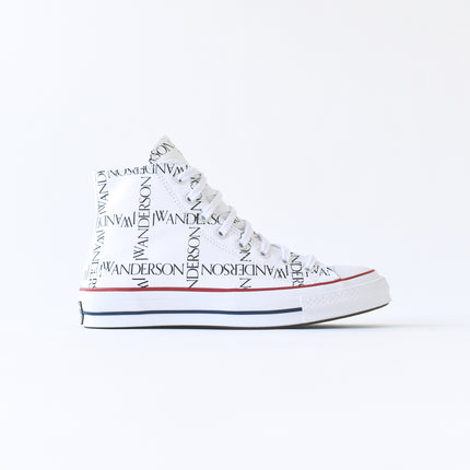 Converse x JW Anderson Chuck 70 High - White / Black / Insignia Red