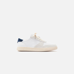 Clae Gregory Full Grain Leather - White / Navy