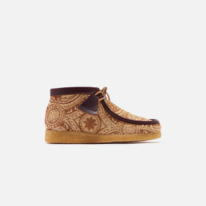 Clarks x Todd Snyder Wallabee Boot - Brown Gold Image 1