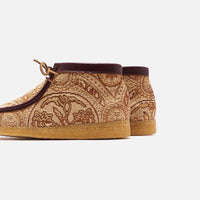 Clarks x Todd Snyder Wallabee Boot - Brown Gold Thumbnail 1