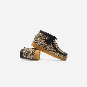 Clarks Wallabee Boot - Cheetah Print