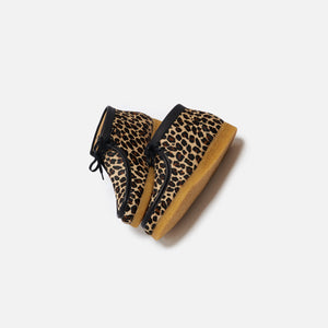 Clarks Wallabee Boot - Leopard Print