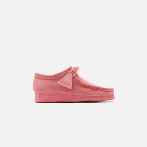 Clarks Wallabee - New Bright Pink Image 1
