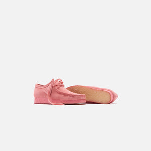 Clarks Wallabee - New Bright Pink Image 2