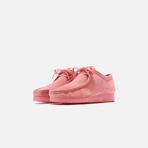 Clarks Wallabee - New Bright Pink Image 3