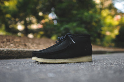 Clarks Wallabee Boot - Black
