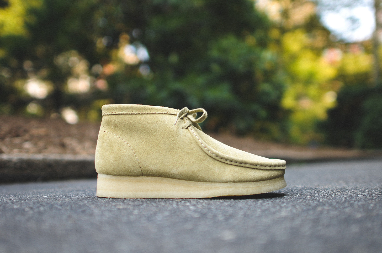Buy wallabee boot maple suede cheap,up