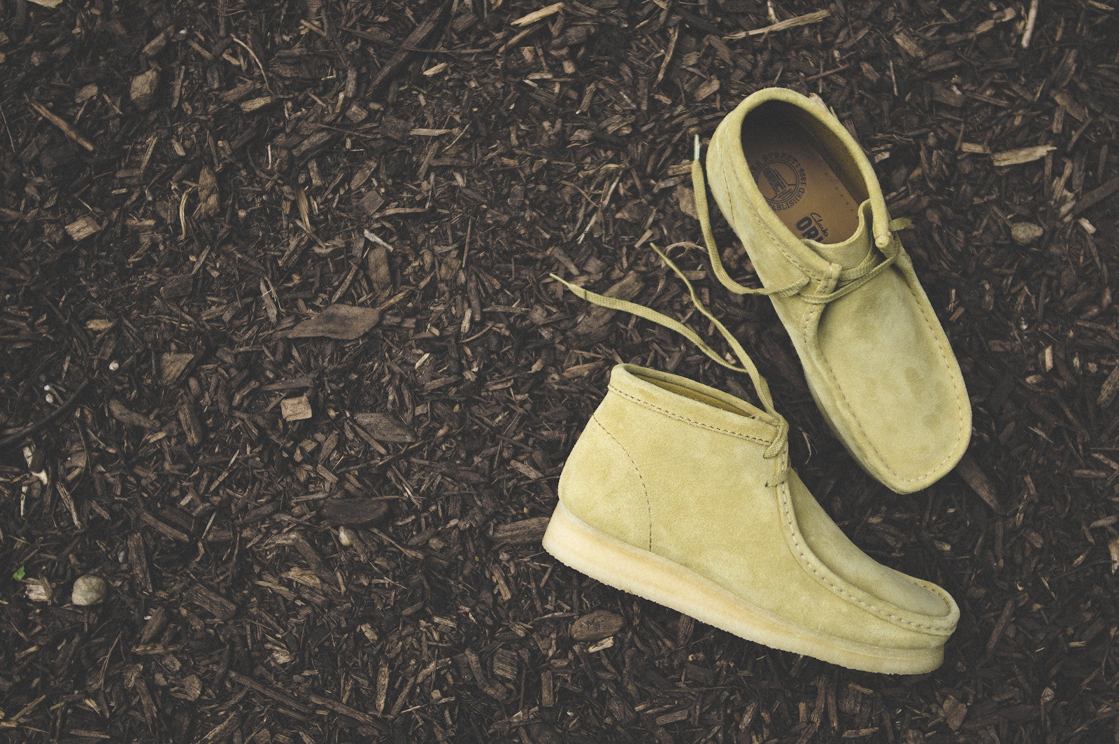 Clarks Wallabee Boot - Maple Suede
