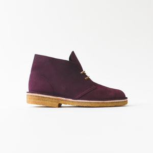 Clarks Desert Boot - Purple ELK