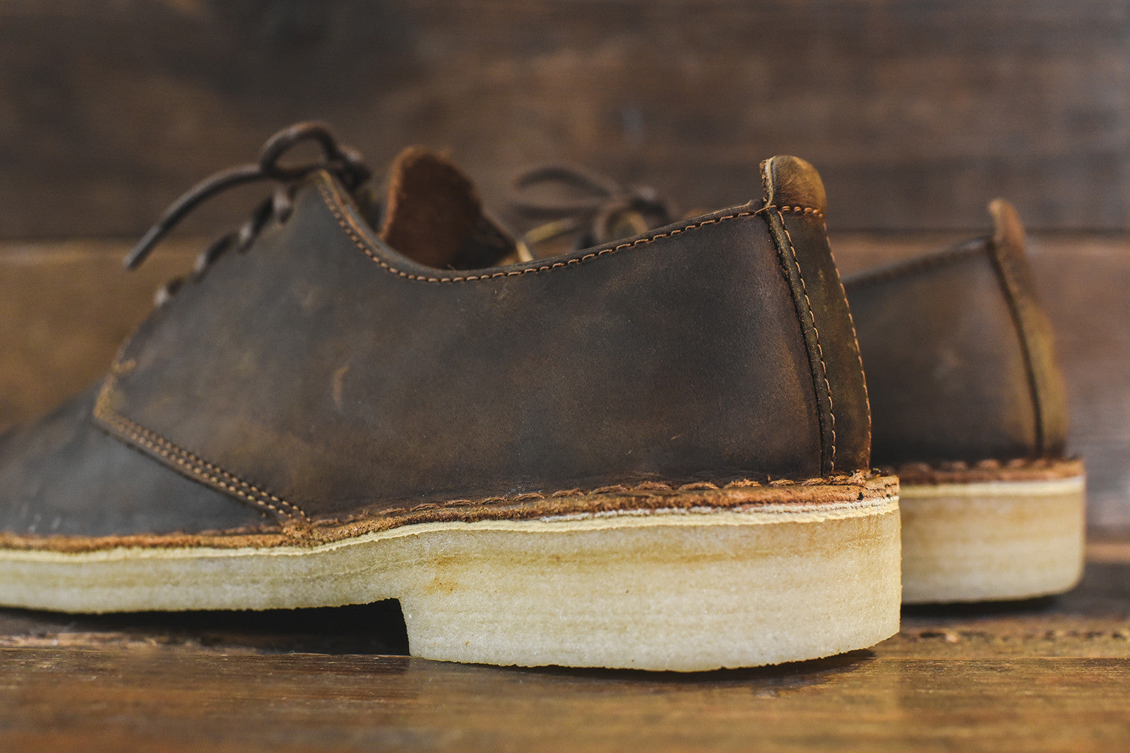 Clarks Desert London Low - Brown