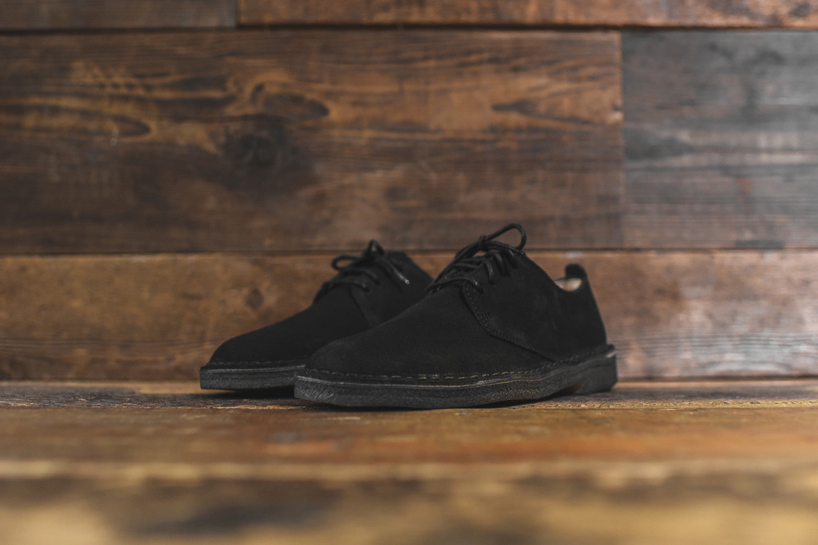 Clarks Desert London Low - Black