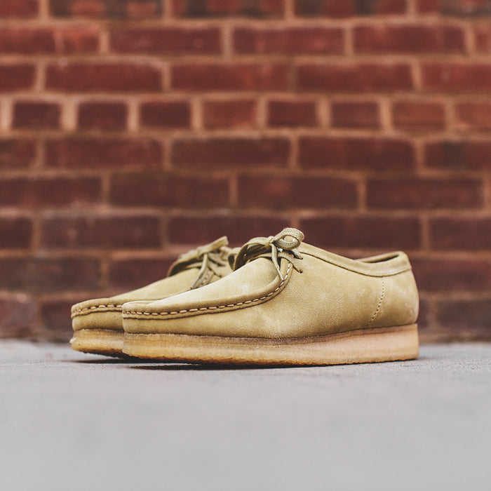 Clarks Wallabee Low - Maple