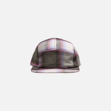Kith Classics Plaid Camp Hat - Forest Green