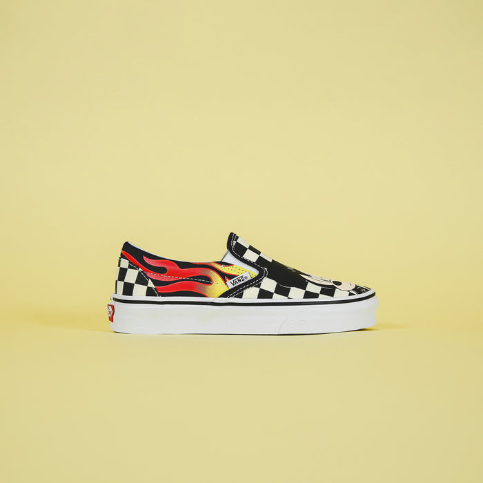 Vans x Mickey Mouse Classic Slip-On - Mickey & Minnie / Checkerboard