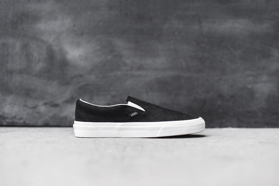 Vans Classic Slip-On - Black / Blanc