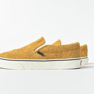 28073a07ab1 Vans Classic Slip On Hairy Suede - Sunflower   Snow White – Kith