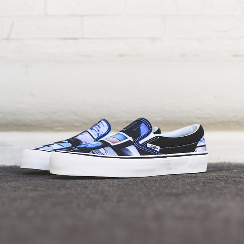 Vans x Daniel Russo Classic Slip-On SF - Black / Blue