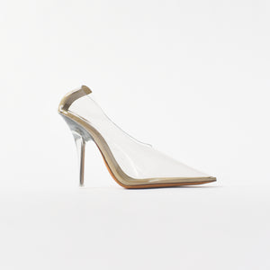 Yeezy WMNS Pump In PVC 110MM Heel - Clear