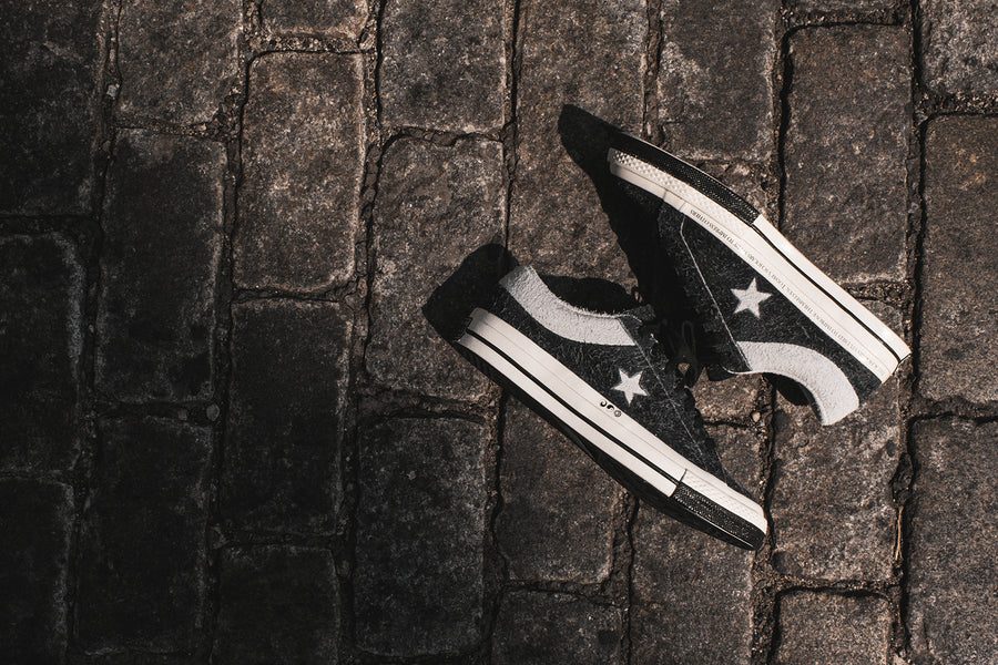 Converse x CLOT One Star - Black / White
