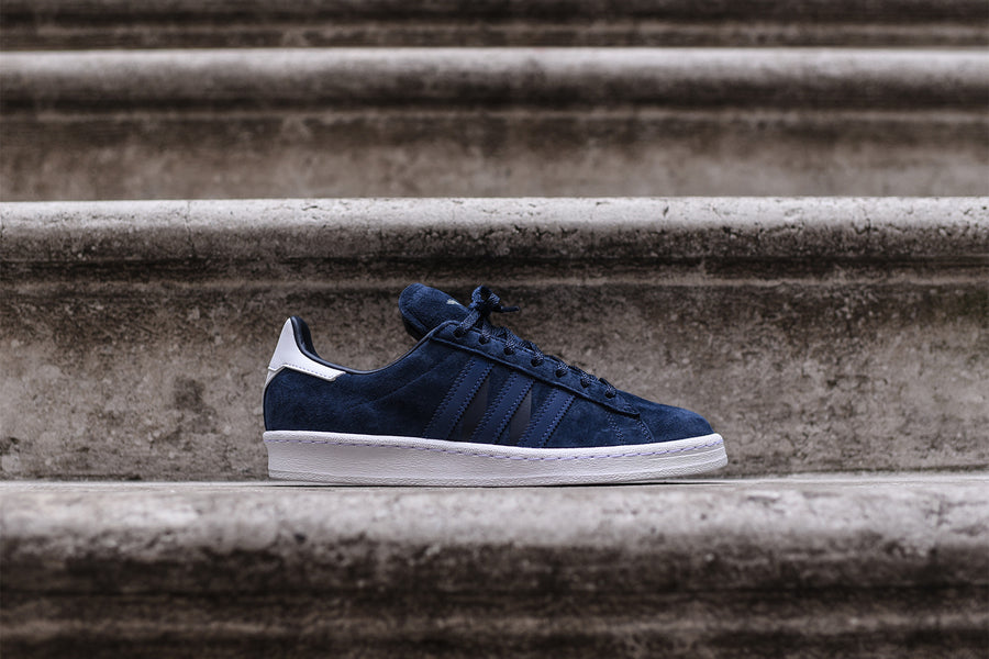 adidas Originals x White Mountaineering Campus 80 - Navy / Blue / White