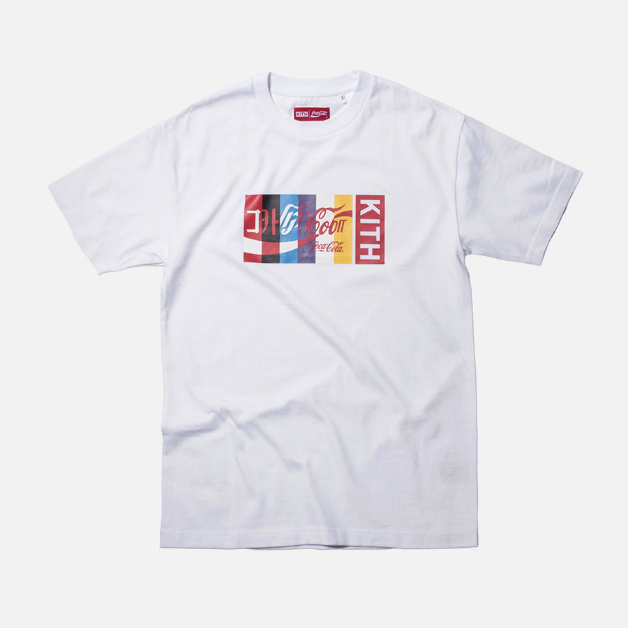 Kith x Coca-Cola International Tee - White